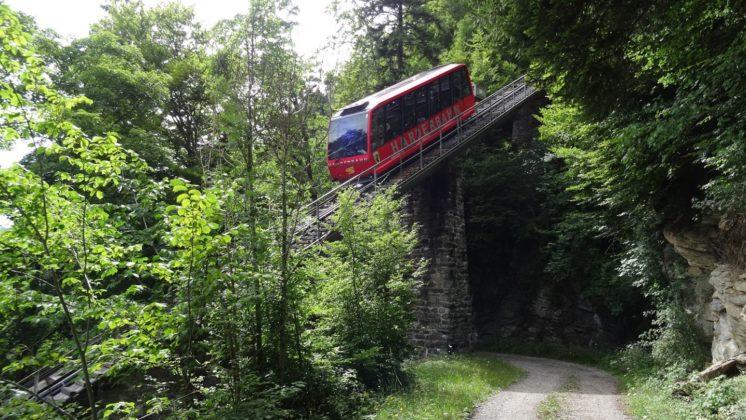Harder Bahn zwischen Interlaken und Harder Kulm
