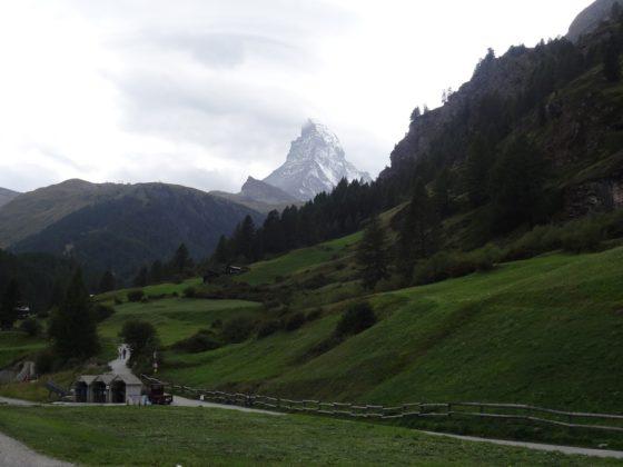 Matterhorn, von Zermatt aus gesehen