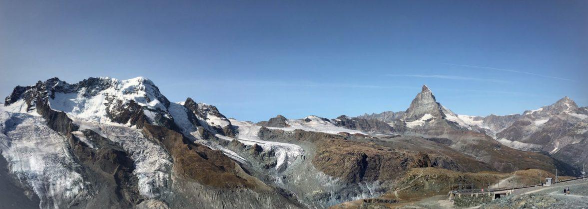 Blick auf Matterhorn vom Gornergrat