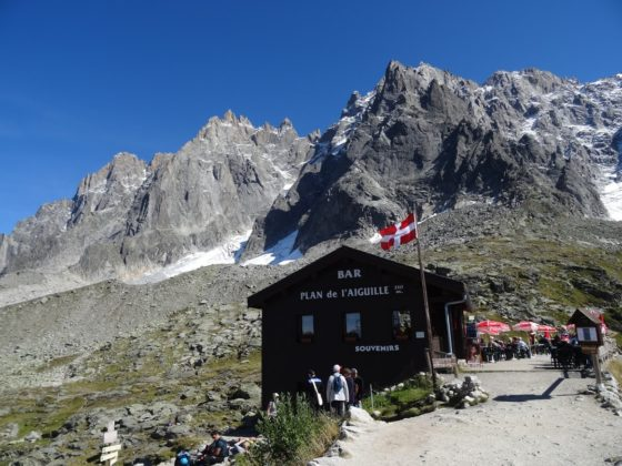 Berghütte Plan de´l Aiguille