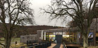 Eingang zum Steigerwaldzentrum