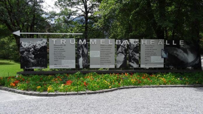 Eingang Trümmelbachfälle