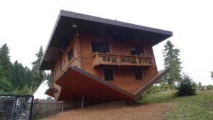 Haus auf dem Kopf Waldwipfelweg in Sankt Englmar