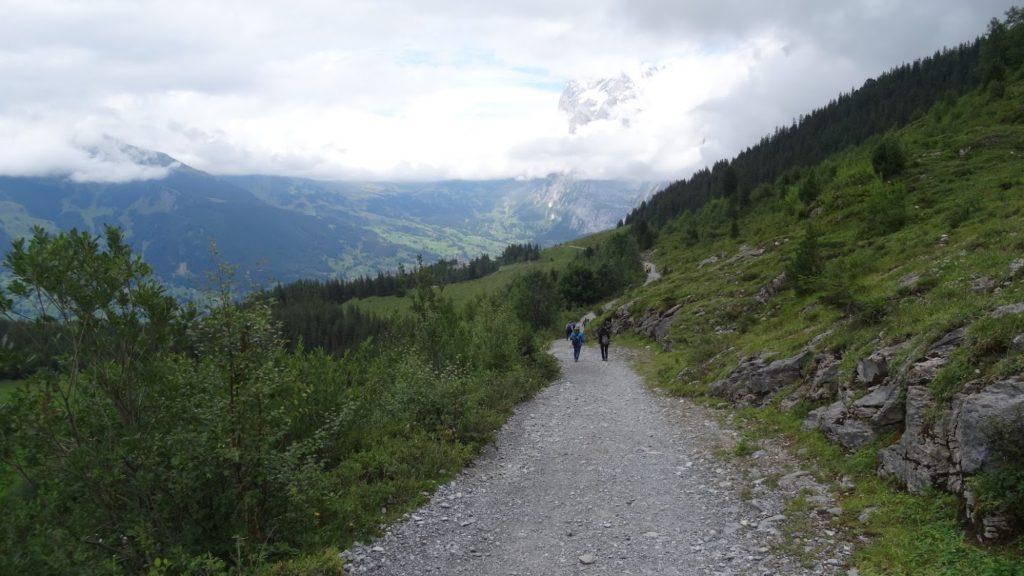 Weg zwischen Kleinem Scheidegg und Grund
