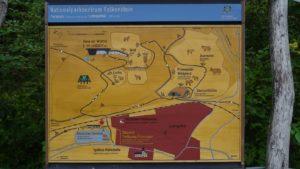 Lageplan Wildpark Falkenstein