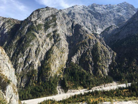 Hochalm: Blick auf Watzmann Westwand