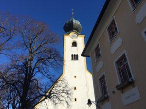 Start der Tour an der Tourist-Info in Grassau