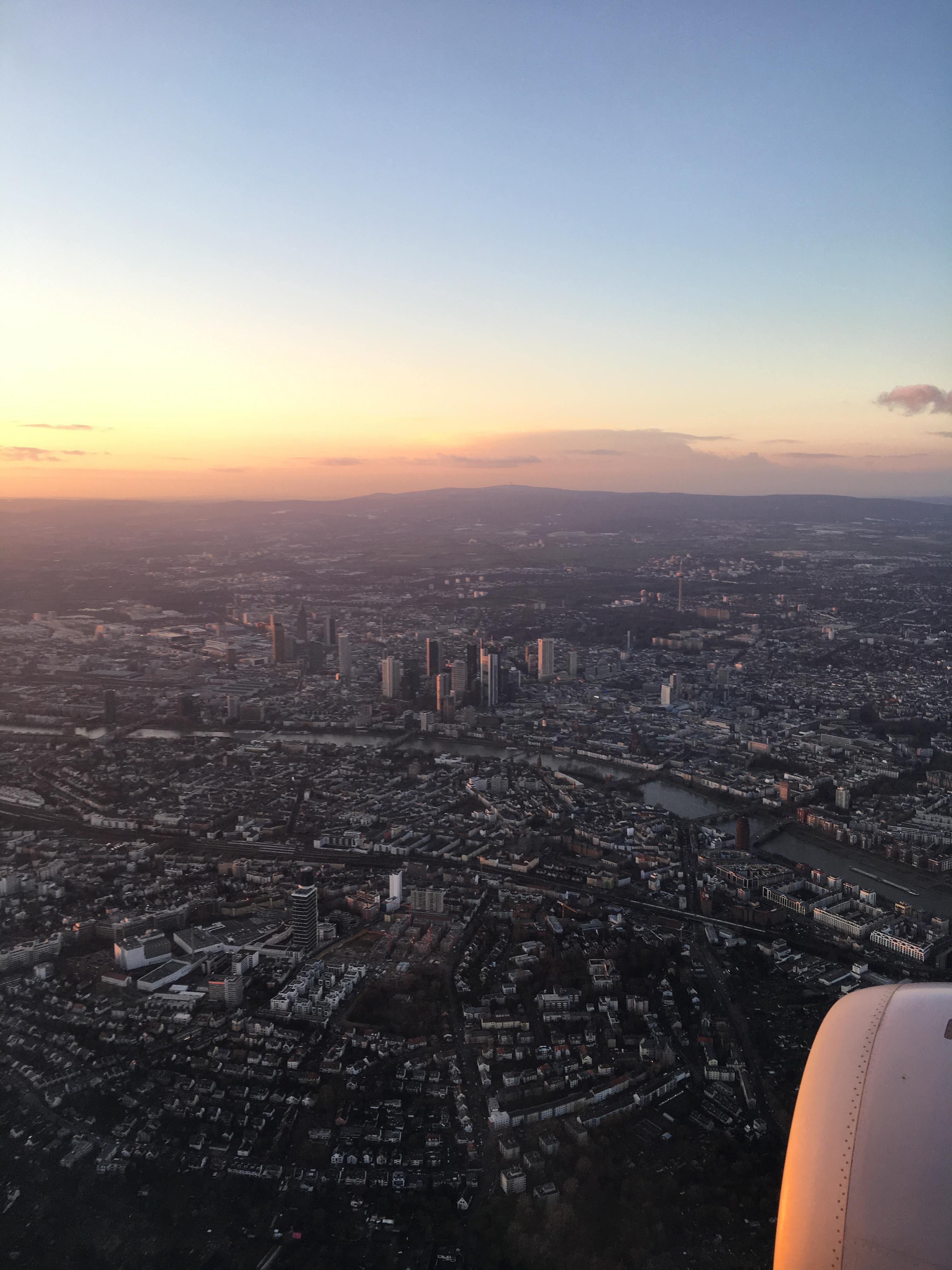 Frankfurt Landung