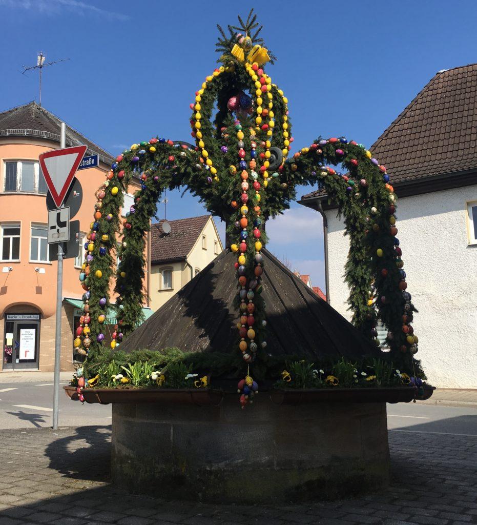 Osterbrunnen Buttenheim