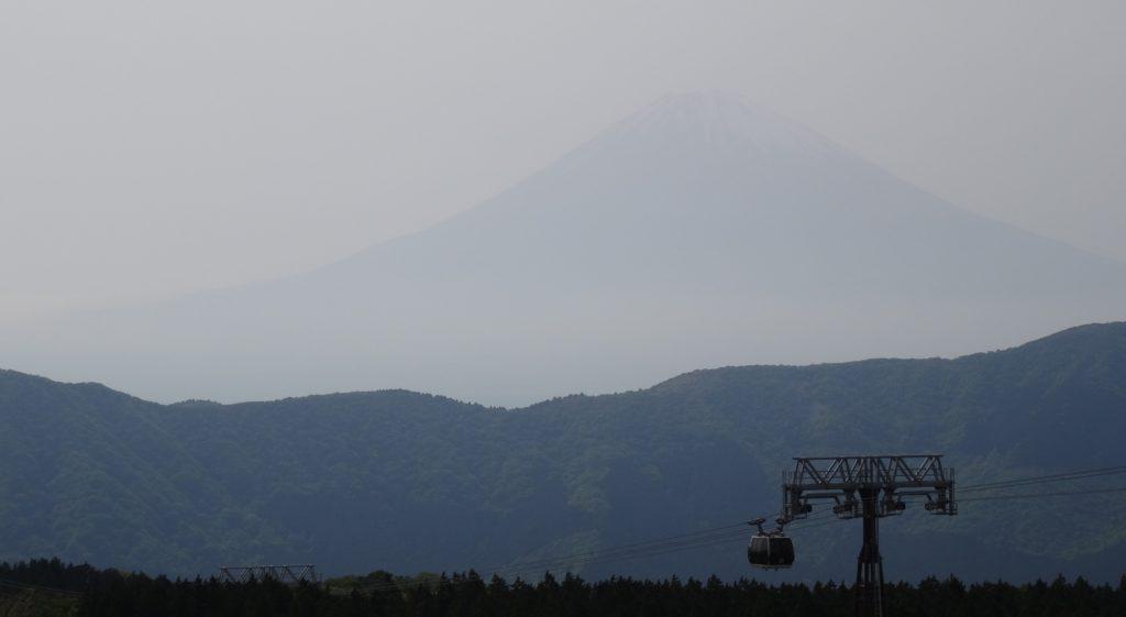 Fuji im Nebel