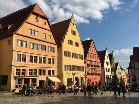 Marktplatz von Rothenburg