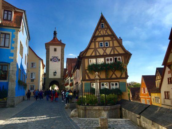 Die berühmteste Ecke Rothenburgs