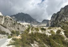 Die Marmorberge von Carrara