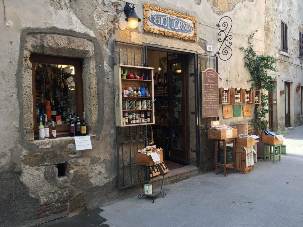 Delikatessengeschäft in Pitigliano
