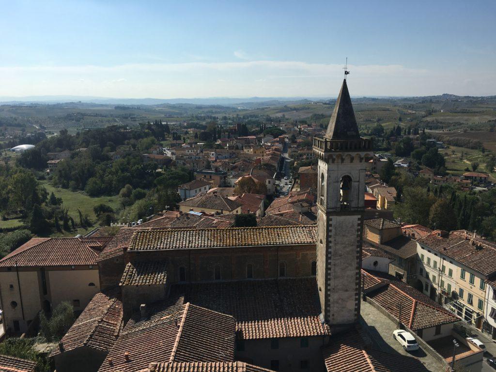 Blick vom Castello dei Conti Guidi