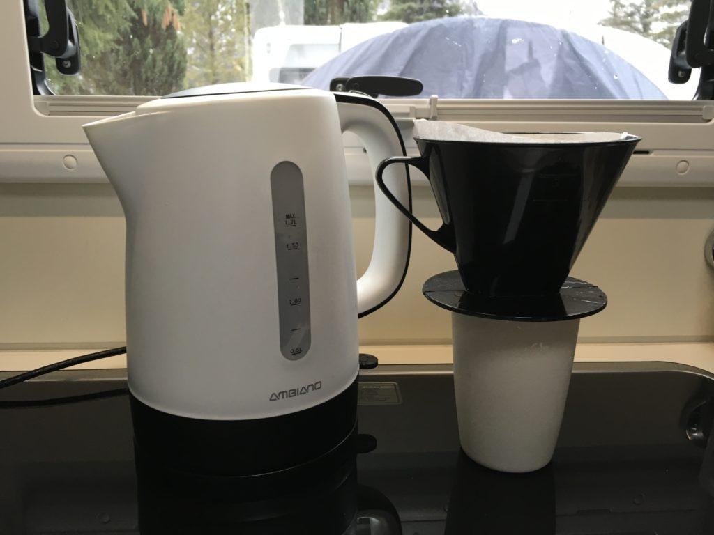 Filterkaffee Wohnmobil