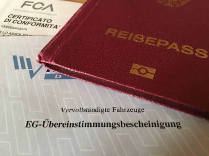 EG Übereinstimmungsbescheinigung