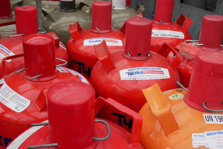 Gas im Wohnmobil – Basiswissen Teil 2: Die Wahl der passenden Gasflasche