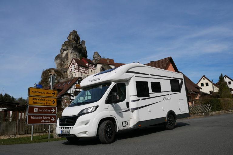 Reisebericht: Die Fränkische Schweiz mit dem Wohnmobil