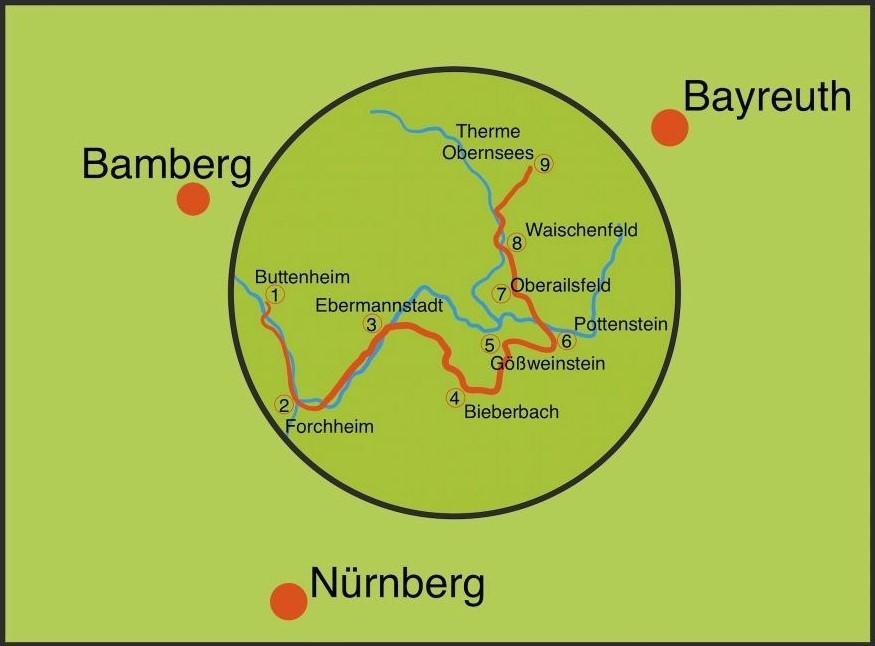 Osterbrunnen Rundfahrt