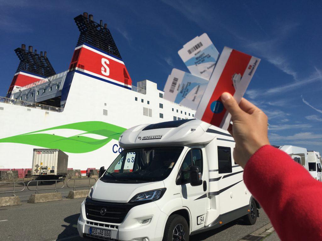 Fähre Rostock Trelleborg mit Wohnmobil