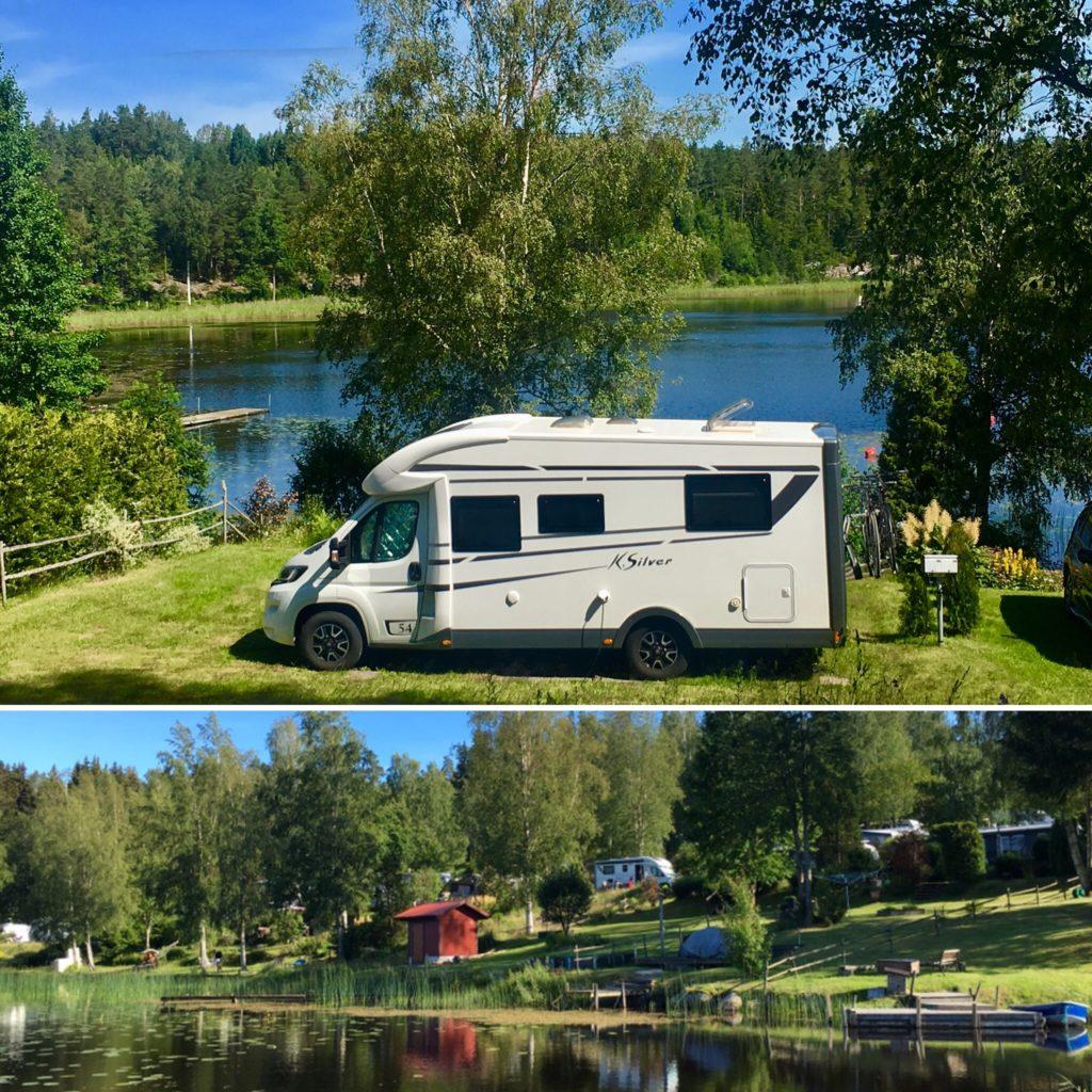 Campingplatz Tiveden Nationalpark