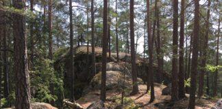 Tiveden Nationalpark Landschaft