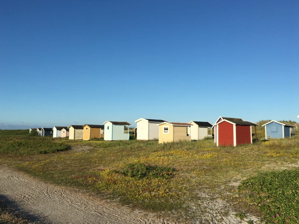 Die Hütten von Falsterbo