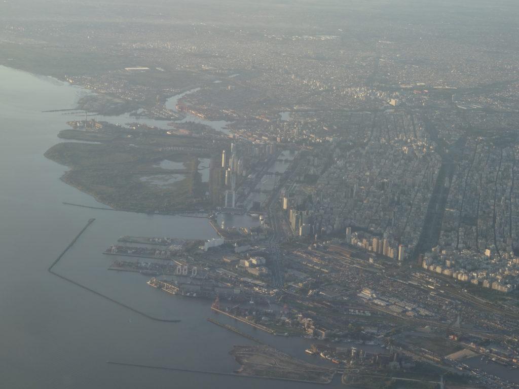 Anflug auf Buenos Aires