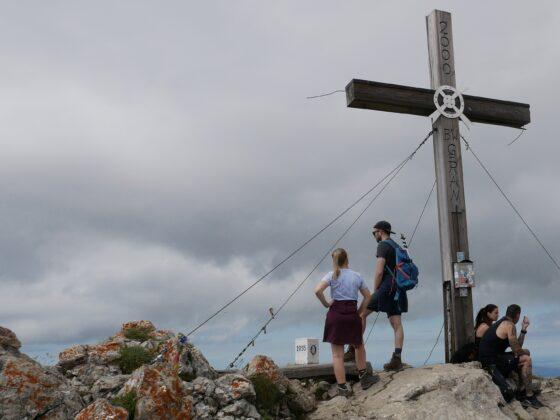 Gipfelkreuz Aggenstein