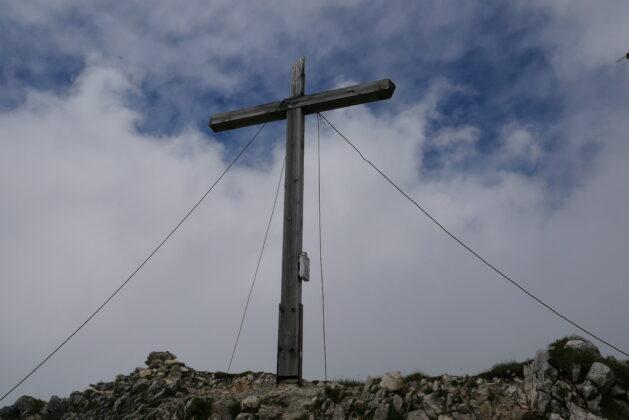 Gipfelkreuz Brentenjoch