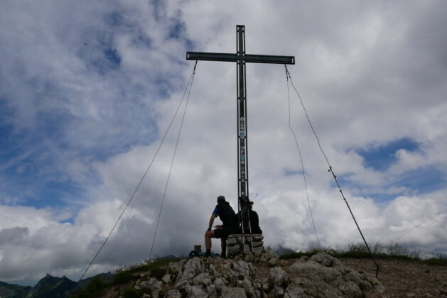 Gipfelkreuz Krinnenspitze
